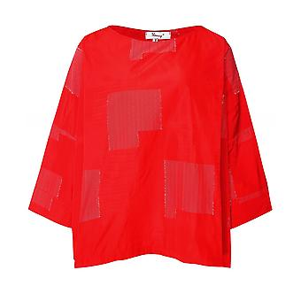 Thanny Boxy Patchwork Top