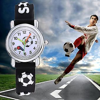 Football Silicone Kids Wristwatch