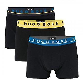 Hugo Boss 3 Pack Black 985 Boxer Trunk Shorts 50449458