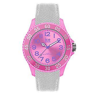 Ice-Watch - סוכריות מצוירות קרח - שעון בנות עם רצועת סיליקון - 017728, קטן, לבן