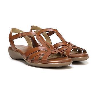 Naturalizer naisten Nella nahka avoimen rento Strappy sandaalit