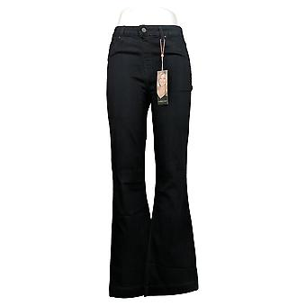 Laurie Felt Mujeres's Jeans Silky Denim Flare Pull-On Azul A309676