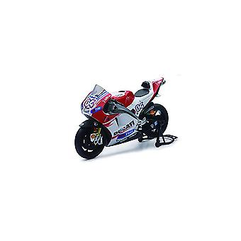 Ducati Desmosedici Number 4 (Andrea Dovizioso - Moto GP 2015) Diecast Model Motorcycle