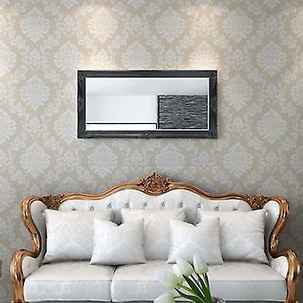 vidaXL wandspiegel in barok stijl 120x60 cm zwart