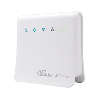 DZK 300Mbps Wifi routerek 4G LTE CPE Mobile Router Support SIM Card Hordozható vezeték nélküli útválasztók
