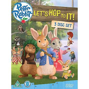Peter Rabbit: Lets Hop To It! DVD