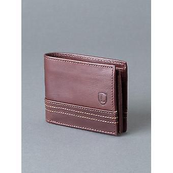 Keswick läderplånbok i brunt