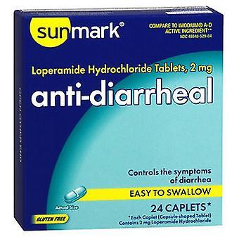 Sunmark Sunmark Anti-Diarrheal, 24 tabs