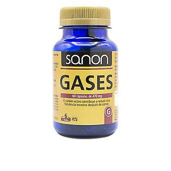 Sanon Sanon Gases 60 Cápsulas De 470 Mg Unisex