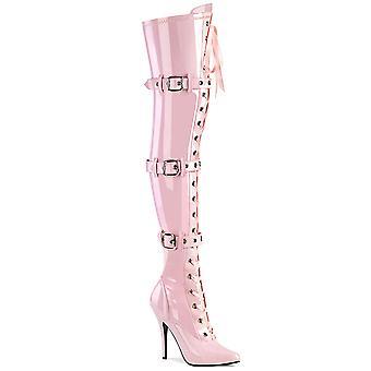 Pleaser Naisten saappaat SEDUCE-3028 B. Pink Str. Pat