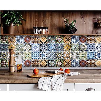 "6"" X 6"" Jessa Mutli Mosaic Peel and Stick Tiles"