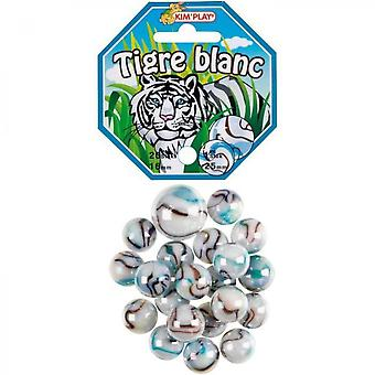 Kimplay 20 + 1 White Tiger Balls