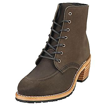Red Wing Clara Womens Ankle Boots in Pewter