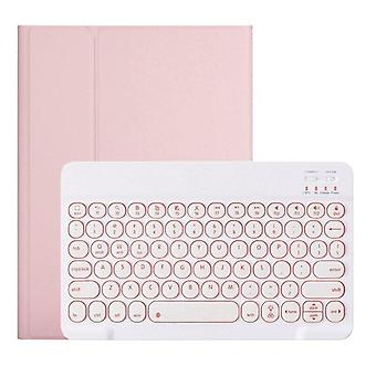 iPad Air4 Qwert Tablet Case, Runt keyboard case tangentbordstangentbord med tangentblock som passar iPad Air4