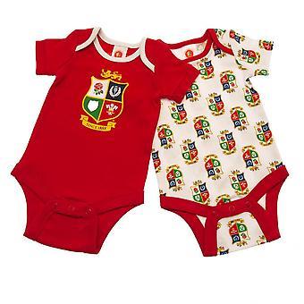 British & Irish Lions Baby Bodysuit (2er Pack)