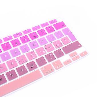 Chrániče klávesnice Španielsky notebook farebný silikónový kryt klávesnice pre macbook