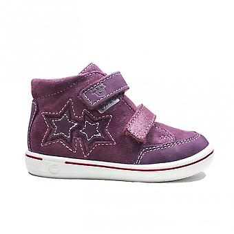 Ricosta Sini 2628900-384 Merlot Nubuck Leather Childrens Waterproof Ankle Boots