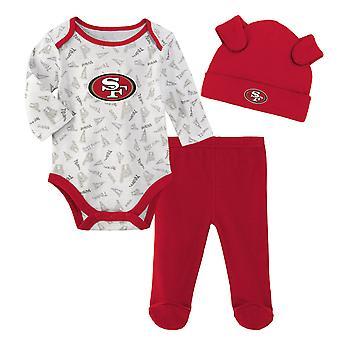 NFL Newborn Baby Set - LITTLE San Francisco 49ers