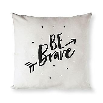 Pillowcases shams be brave cotton canvas pillow cover sm148732