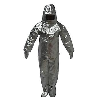Îmbrăcăminte ignifugă de izolare termică Set complet - Folie de aluminiu cu intrare în foc