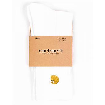 Carhartt WIP Chase sokken-wit