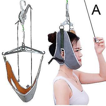 Kävelyvyöt roikkuvat kaulan vetosarja säädettävä kohdunkaulan vetolaite kiropraktinen kaulan korjaus paarit