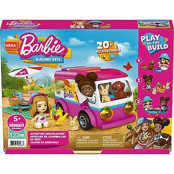 Mega Construx Barbie Adventure DreamCamper Set for Kids