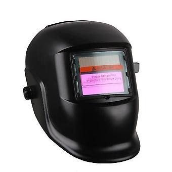Masque de soudage noir foncé variable avec filtre LCD à assombrissement automatique pour soudeur Arc Tig Mig