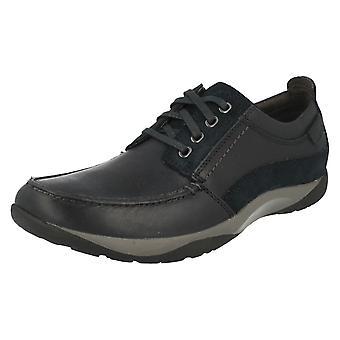 Mens Clarks случайные повседневной зашнуровать обувь маршрут ходьбы