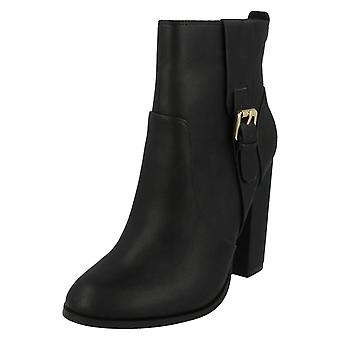 Ladies Anne Michelle Block Heel Ankle Boots F50648