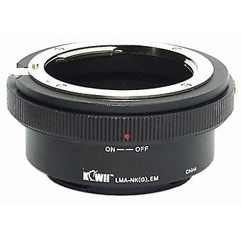 Kiwifotos Lens Mount Adapter: Allows Nikon G Mount Lenses to be used on any Sony E-Mount Camera Body - NEX-3, NEX-5, NEX-5N, NEX-7, NEX-C3
