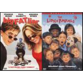 Universal 2 Pak - Big Fat Liar/Little Rascals [DVD] USA importere
