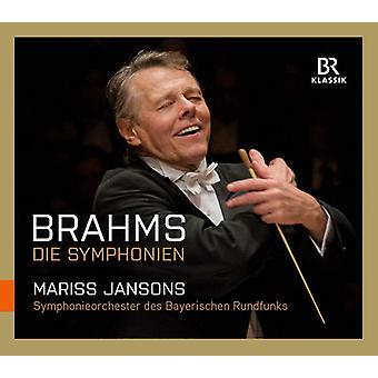 Brahms / Bavarian Radio Symphony Orchestra - Symphonies [CD] USA import