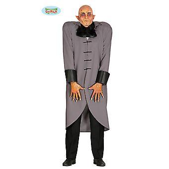 Butler Nosferatu vampyr horror kostyme for menn en størrelse