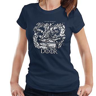 Hodor Hold The Door Game Of Thrones Scene Women's T-Shirt