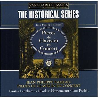 J.P. Rameau - Jean Philippe Rameau: Pieces De Clavecin En Concert [CD] USA import