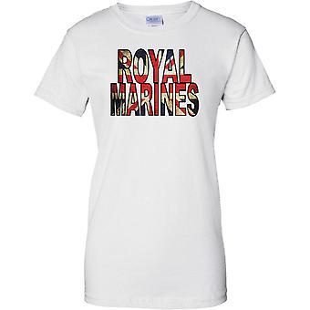 Royal Marines Commando Union Jack Flag - Damen-T-Shirt