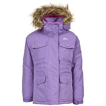 Trespass Childrens Girls Greer Waterproof Parka Jacket
