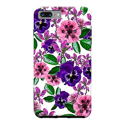 ArtsCase Designers Cases White Floral Garden for Tough iPhone 8 Plus  / iPhone 7 Plus