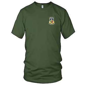 US Army - 121e bataillon chimique Patch brodé - Mens T Shirt