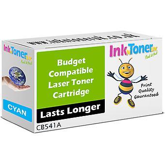 Kompatibel HP 125A cyan CB541A-patron til HP Colour LaserJet CP1217