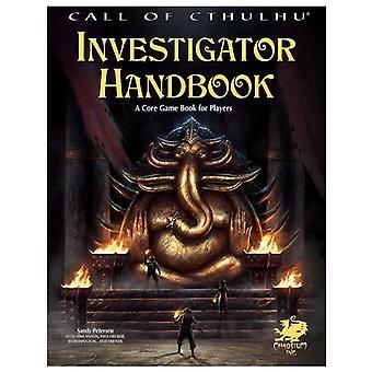 Appel de Cthulhu enquêteur manuel 7e édition-livre