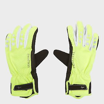 New Sealskinz All Weather Cycle XP Gloves Yellow