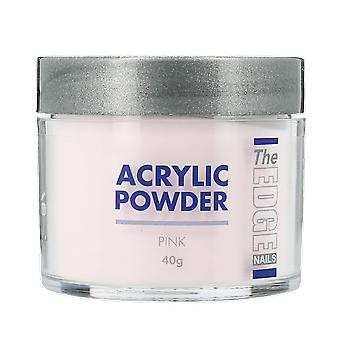 The Edge Nails Acrylic Powder Pink 40g
