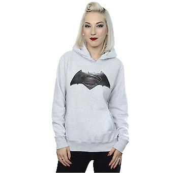 V de DC Comics masculine Batman Superman Logo Hoodie