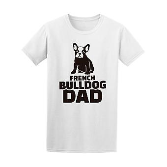 French Bulldog Dad Silhouette Tee Men's -Image by Shutterstock