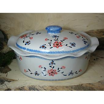 Casserole oval with lid, 16 cm high, 34 x 26 cm, tradition 53 - BSN 22928