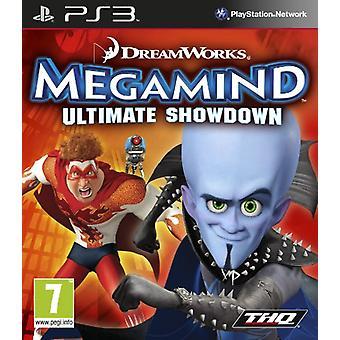 DreamWorks Megamind Ultimate Showdown (PS3)-fabriek verzegeld