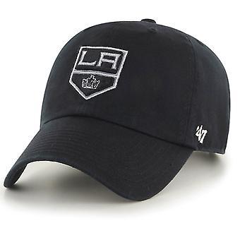 47 Brand Adjustable Cap - CLEAN UP Los Angeles Kings schwarz