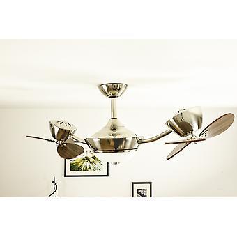 "Energiespar-Decke Ventilator eFAN 107cm/42 ""Noyer"